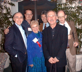 "Bob, David Sherman, Joan Hansen (who created ""Men of Mystery"" and somehow gets it all done), authors Dick Lochte, David Morrell and Tom Nolan."